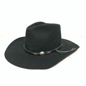 Eddy by Chris Eddy Black Wool Cowboy Hat
